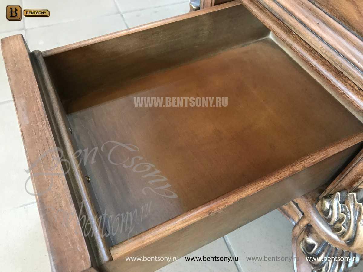 Классический Письменный стол Рамирес (Массив дерева) купить в Москве