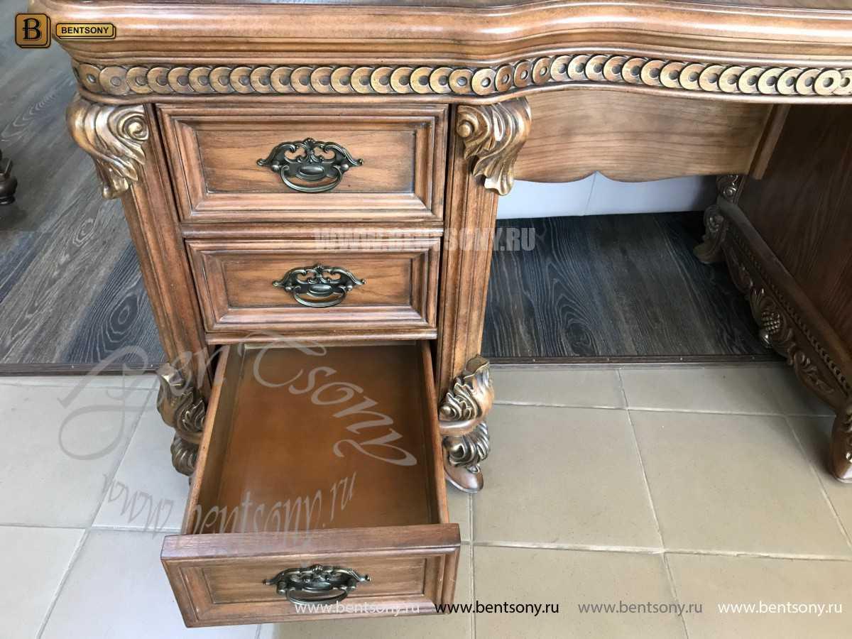 Классический Письменный стол Рамирес (Массив дерева) сайт цены