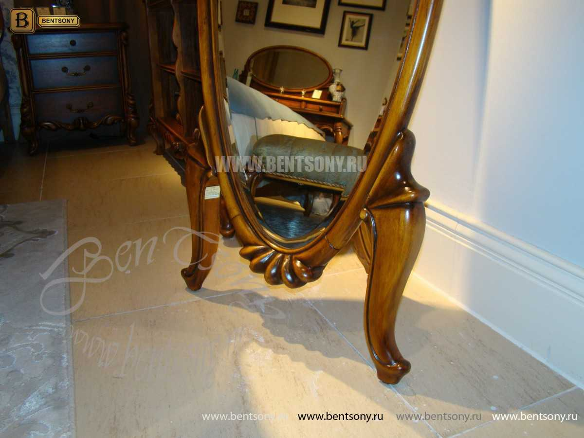 Зеркало в полный рост Лоренс (Массив дерева) изображение