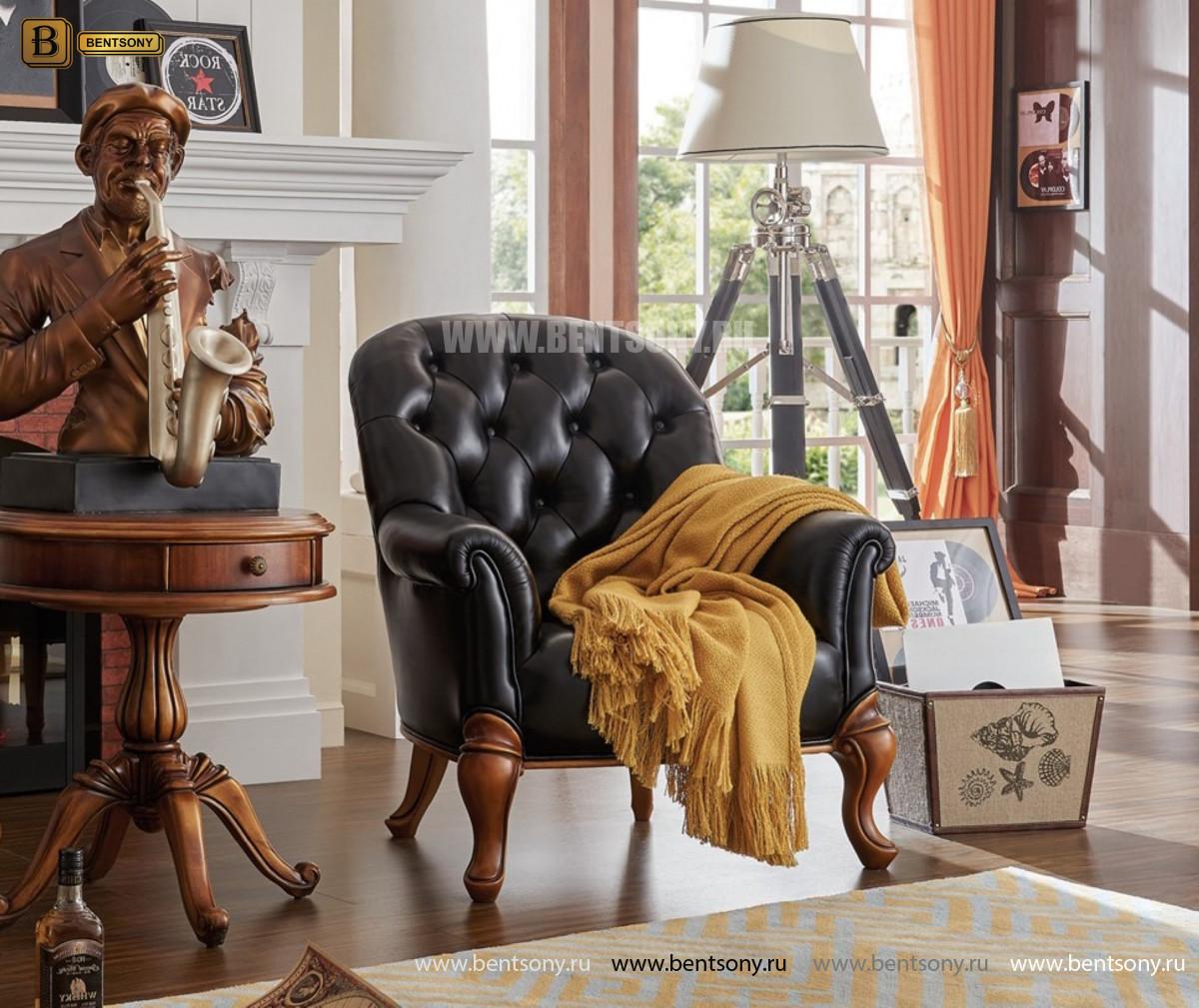 Кресло Лоренс В классическое (Натуральная кожа) официальный сайт цены