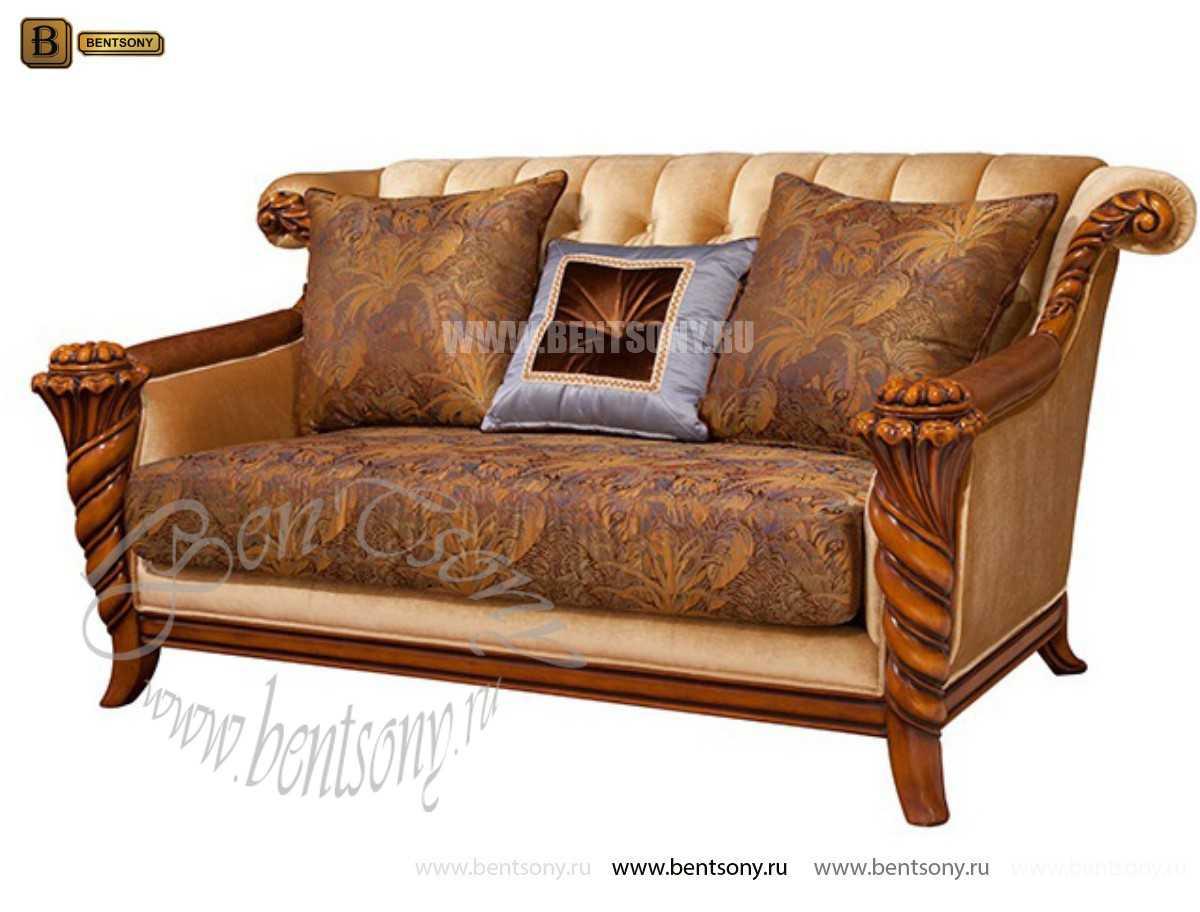 Гостиная Лоренс A классическая (Ткань) для квартиры