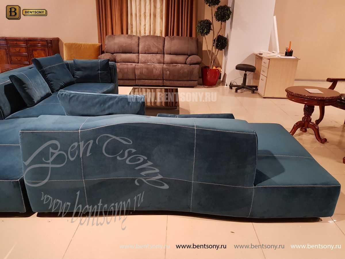 Итальянский Диван Челини (Угловой, Тканевый) каталог мебели с ценами