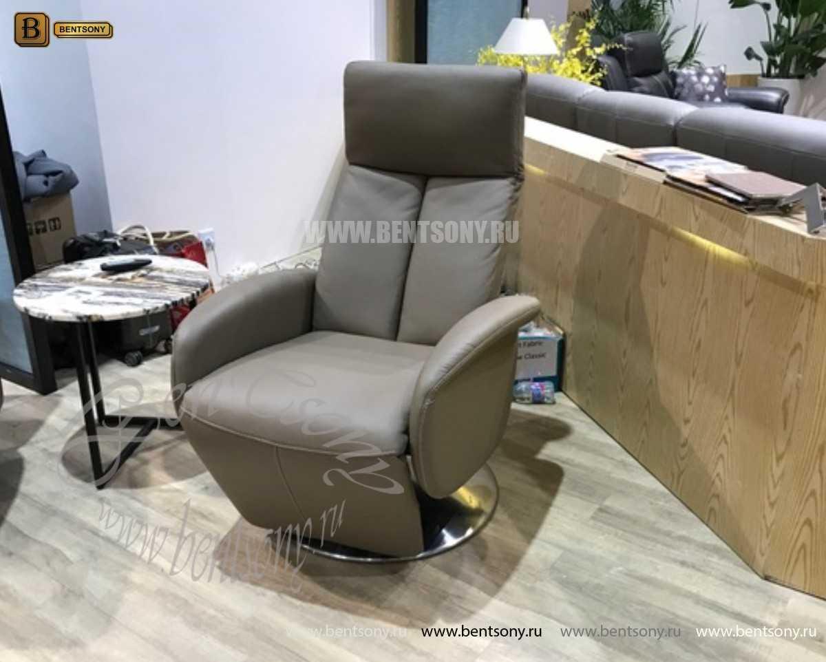 Кресло Аваторе (Реклайнер, Натуральная Кожа) каталог мебели