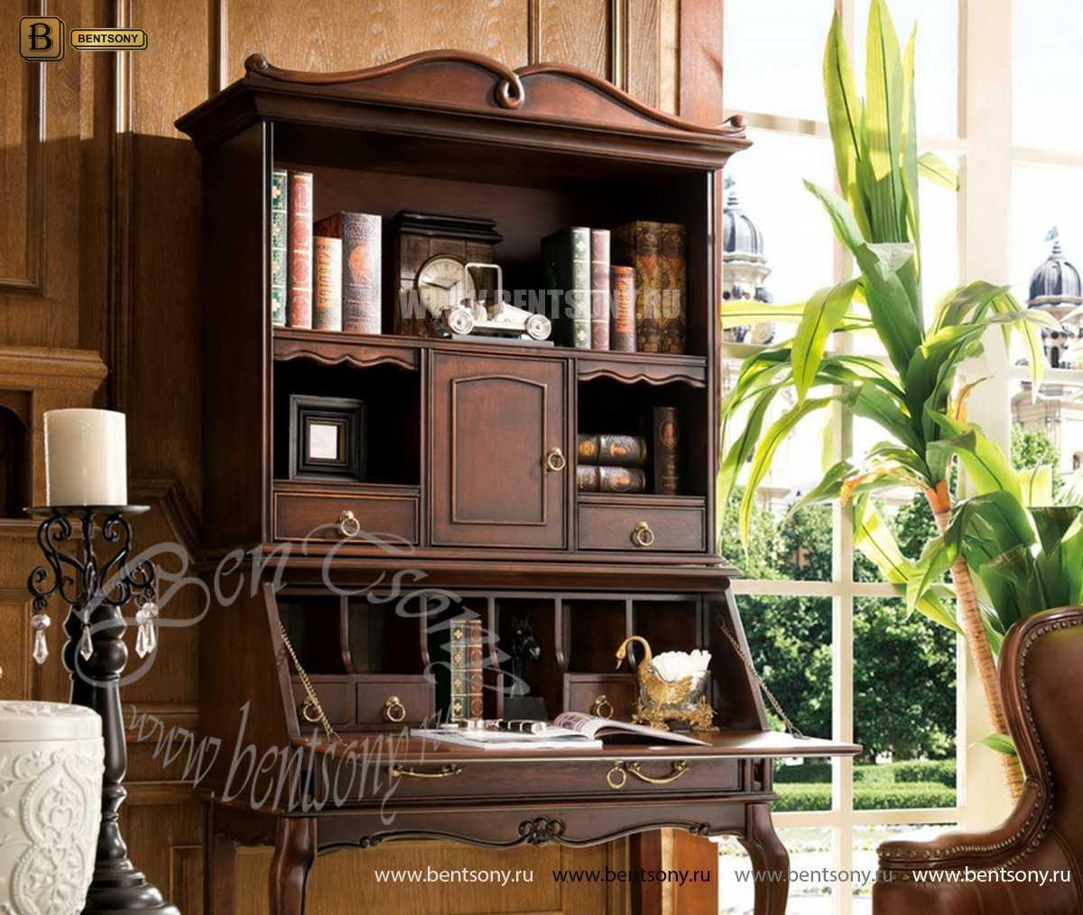 Классический стол для письма(бюро) Крофорд (Массив дерева) каталог мебели