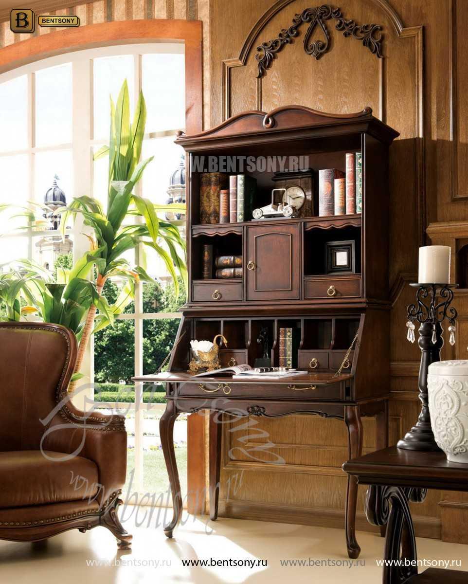 Классический стол для письма(бюро) Крофорд (Массив дерева) изображение