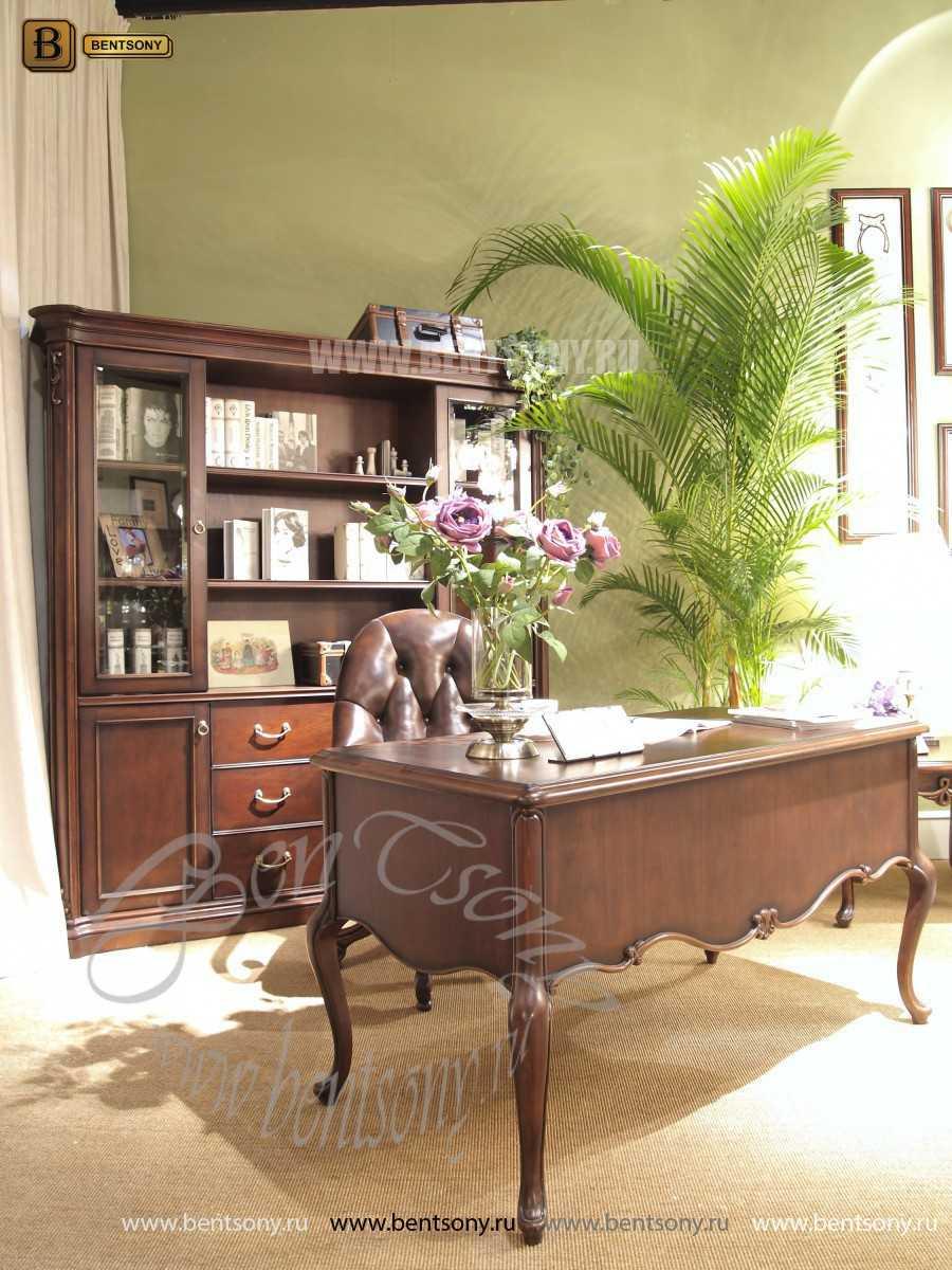 Шкаф Книжный Крофорд (Классика, массив дерева) сайт цены