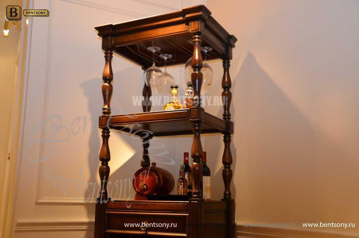 Винный шкаф Крофорд (Массив дерева) купить