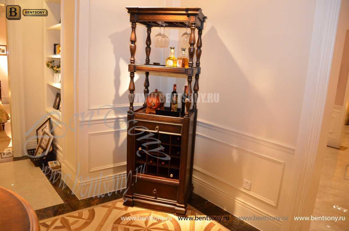 Винный шкаф Крофорд (Массив дерева) для дома