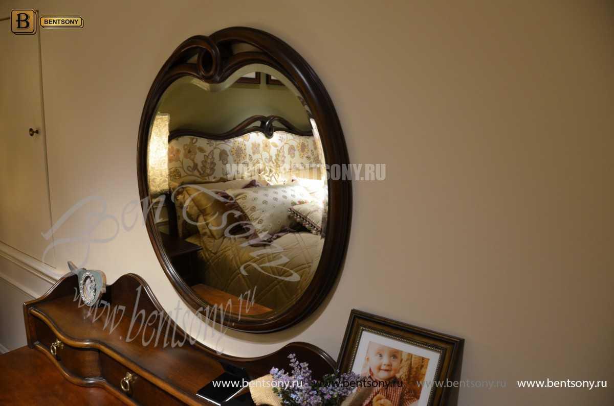 Стол туалетный Крофорд А с зеркалом (Массив дерева, классика) купить в СПб