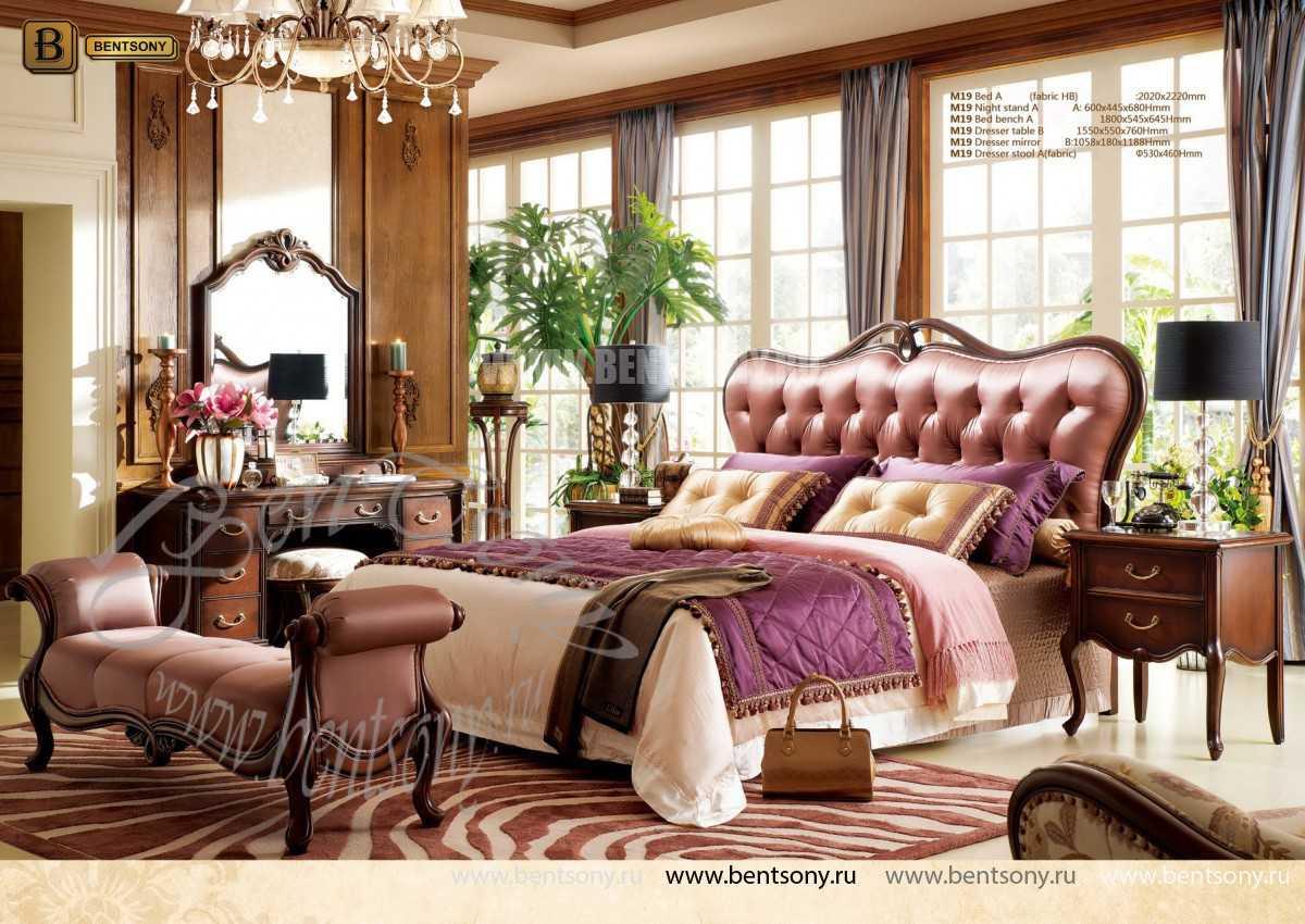Кровать Крофорд А (Классика, Ткань) каталог мебели