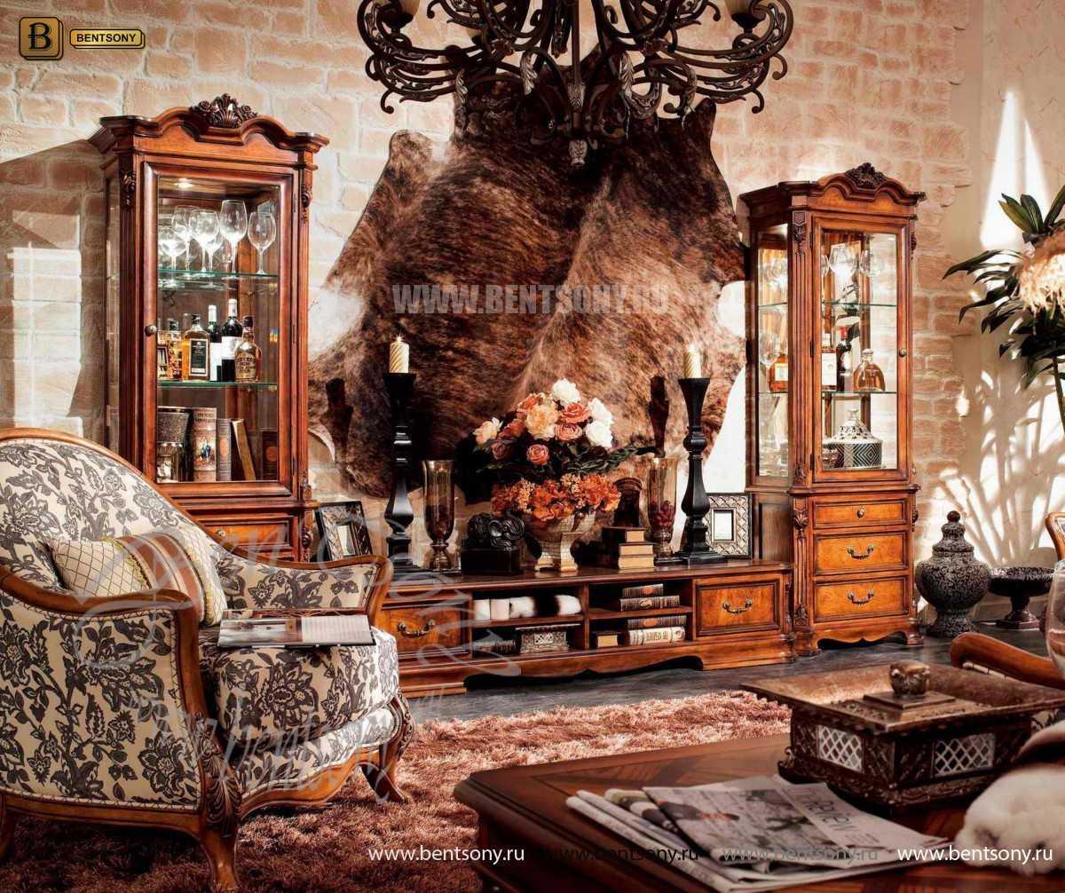 Стенка Феникс (Классика, массив дерева) магазин Москва