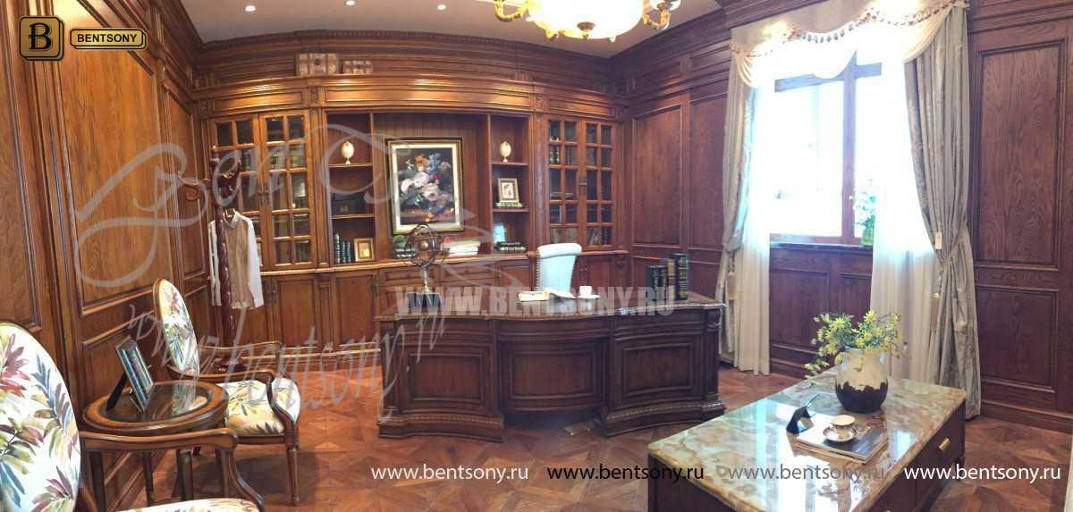 Кабинет Монтана 01 (Классика, Массив дерева) магазин Москва