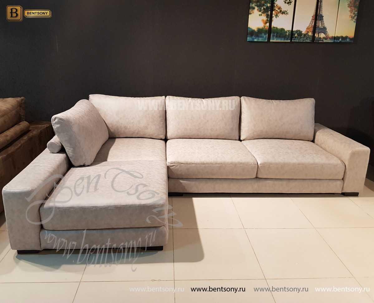 Диван Луиджи угловой (Шезлонг) каталог мебели с ценами
