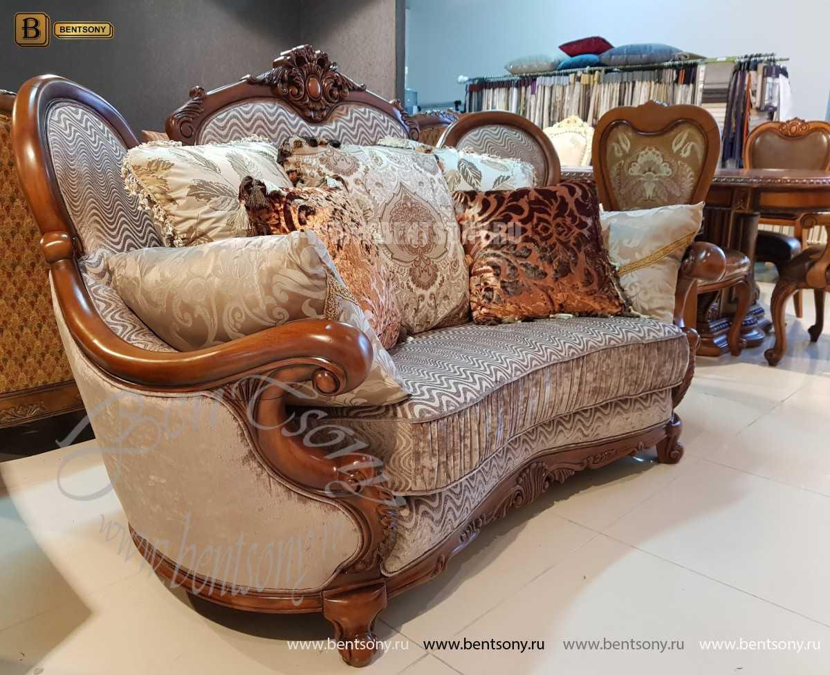 Диван Монтана B (Классика, Велюр) каталог мебели
