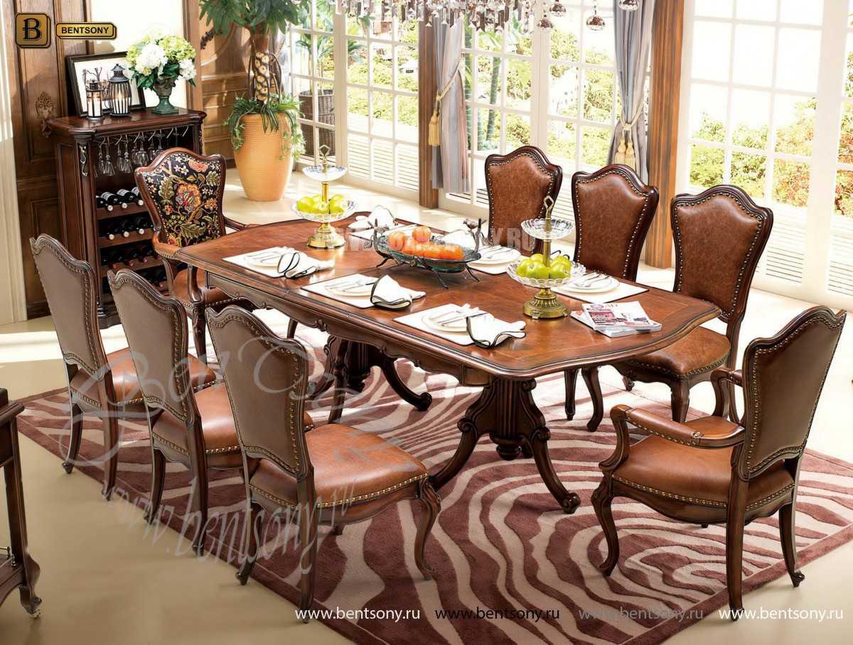 Стол обеденный Крофорд раздвижной (массив дерева) для дома