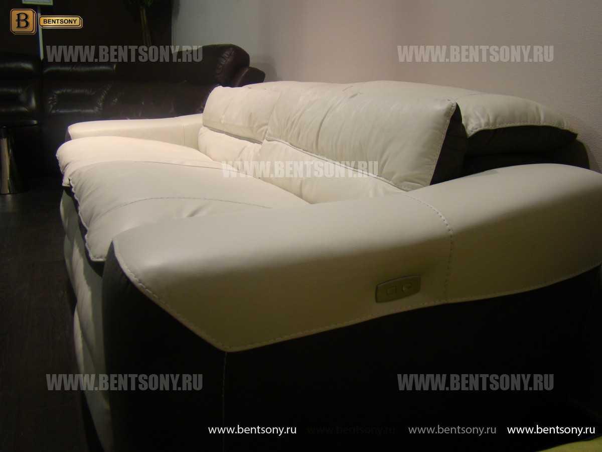 Диван Урбано (Натуральная Кожа, Реклайнеры) каталог мебели с ценами