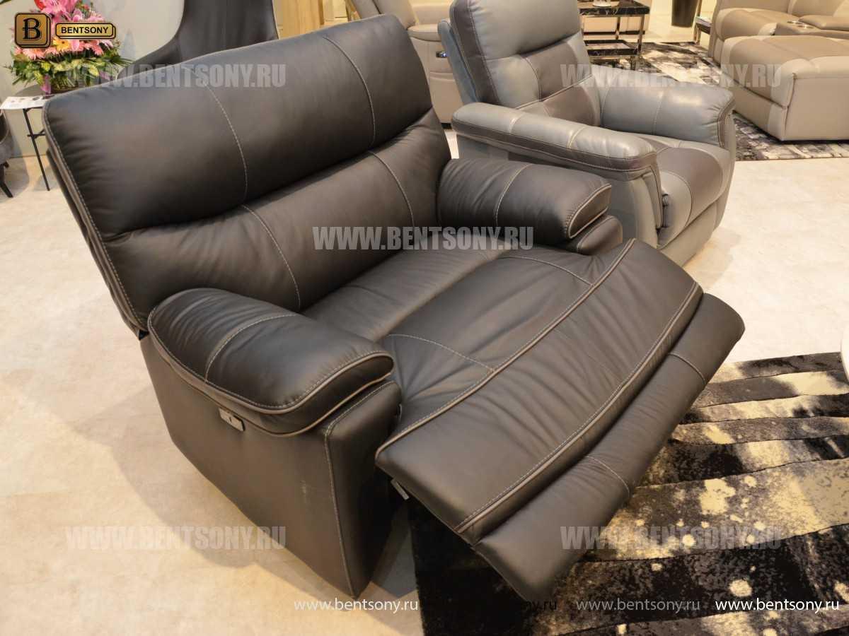 Кресло Терамо (Натуральная кожа, Реклайнер) цена