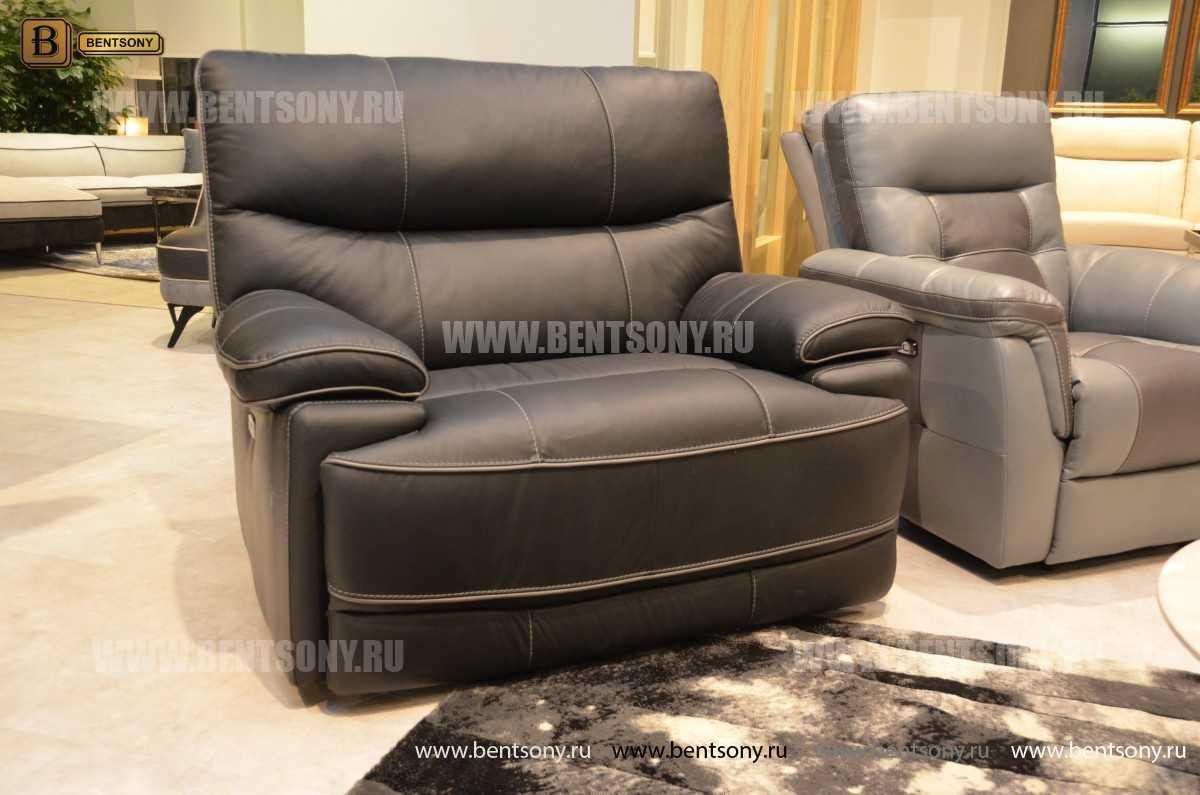 Кресло Терамо (Натуральная кожа, Реклайнер) каталог с ценами