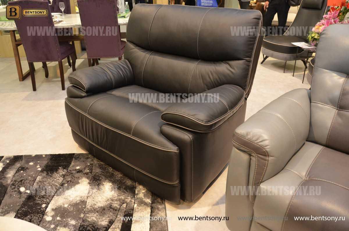 Кресло Терамо (Натуральная кожа, Реклайнер) каталог мебели с ценами