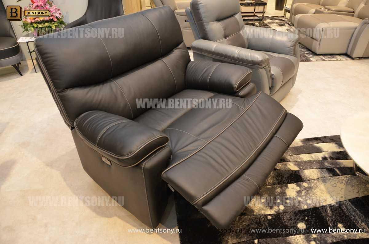 Кресло Терамо (Натуральная кожа, Реклайнер) для дома