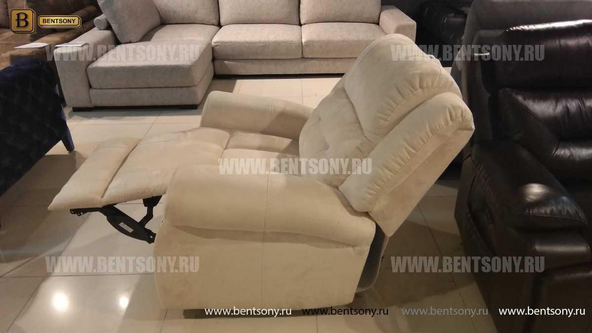 Кресло Локсли (Реклайнер, алькантара) магазин Москва