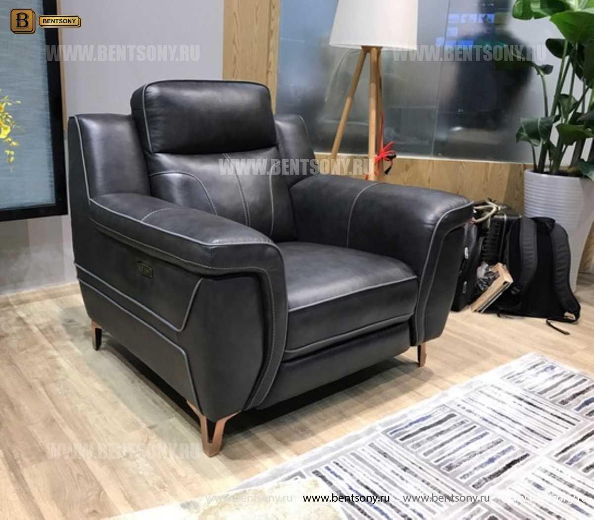 Кресло Камило (Электрический реклайнер, Натуральная кожа) распродажа
