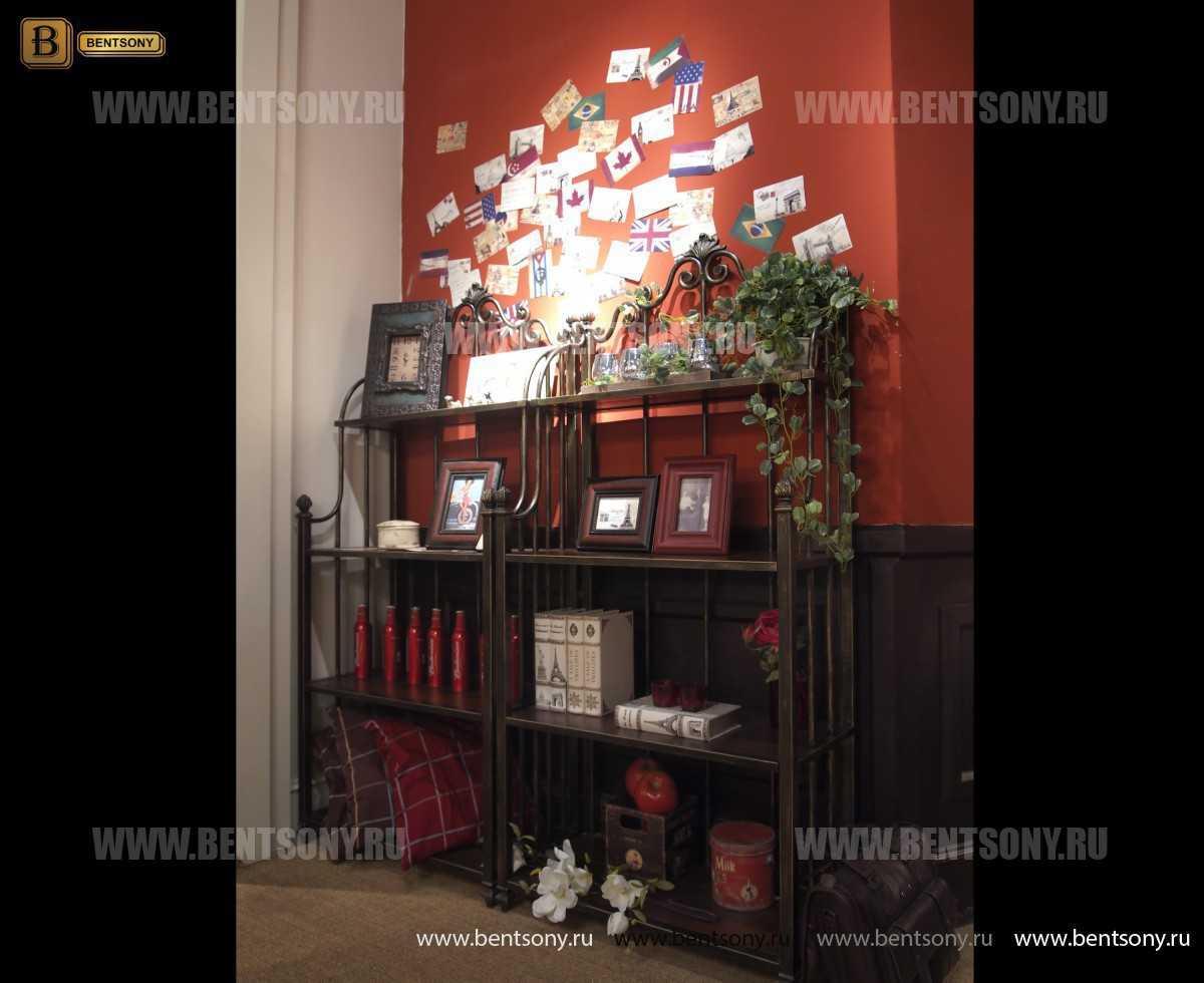 Этажерка Крофорд для предметов декора (Классика, массив дерева) купить