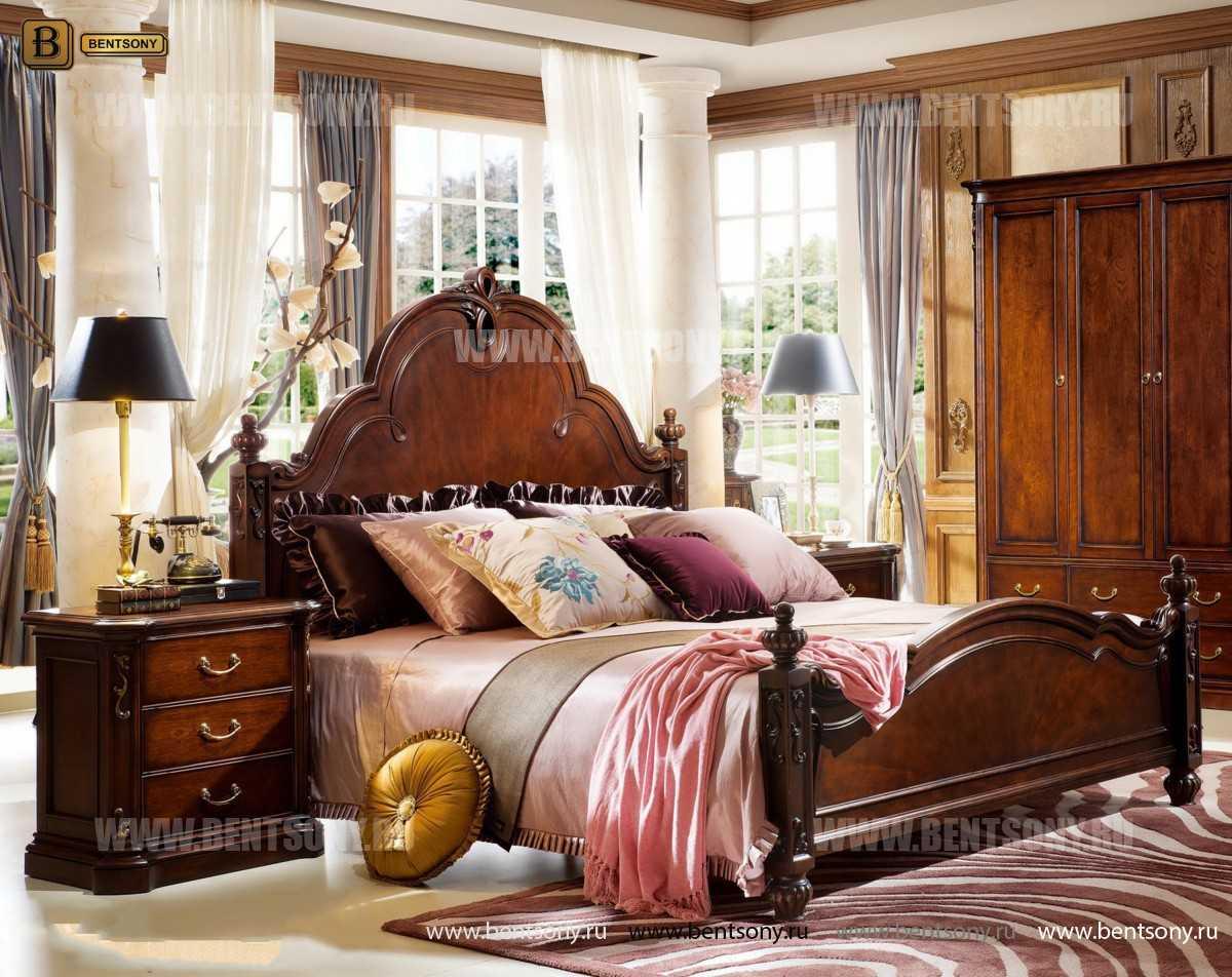 Кровать Крофорд B (Классика, Массив дерева) купить