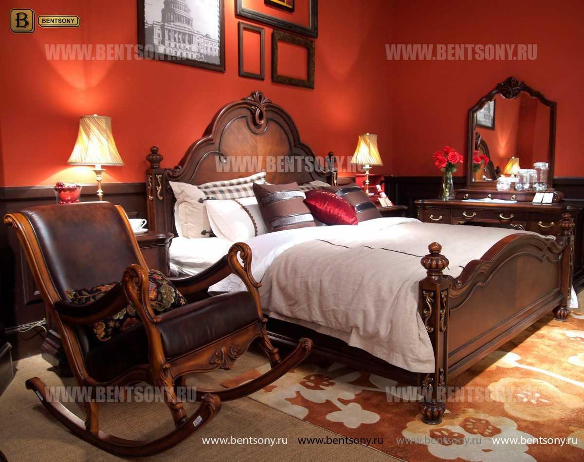 Кровать Крофорд B (Классика, Массив дерева) каталог мебели с ценами
