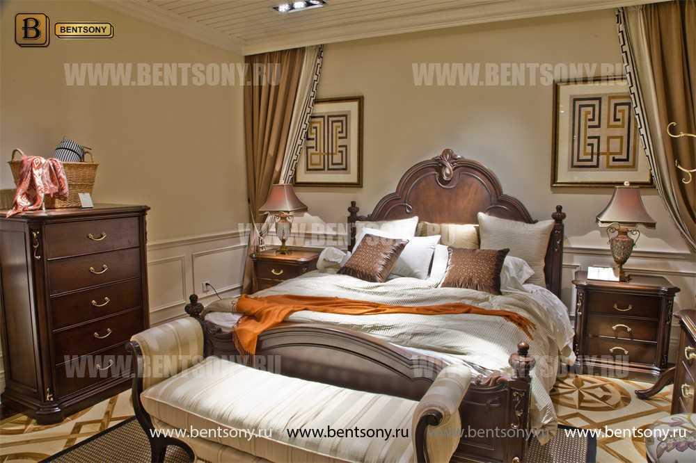Кровать Крофорд B (Классика, Массив дерева) в СПб