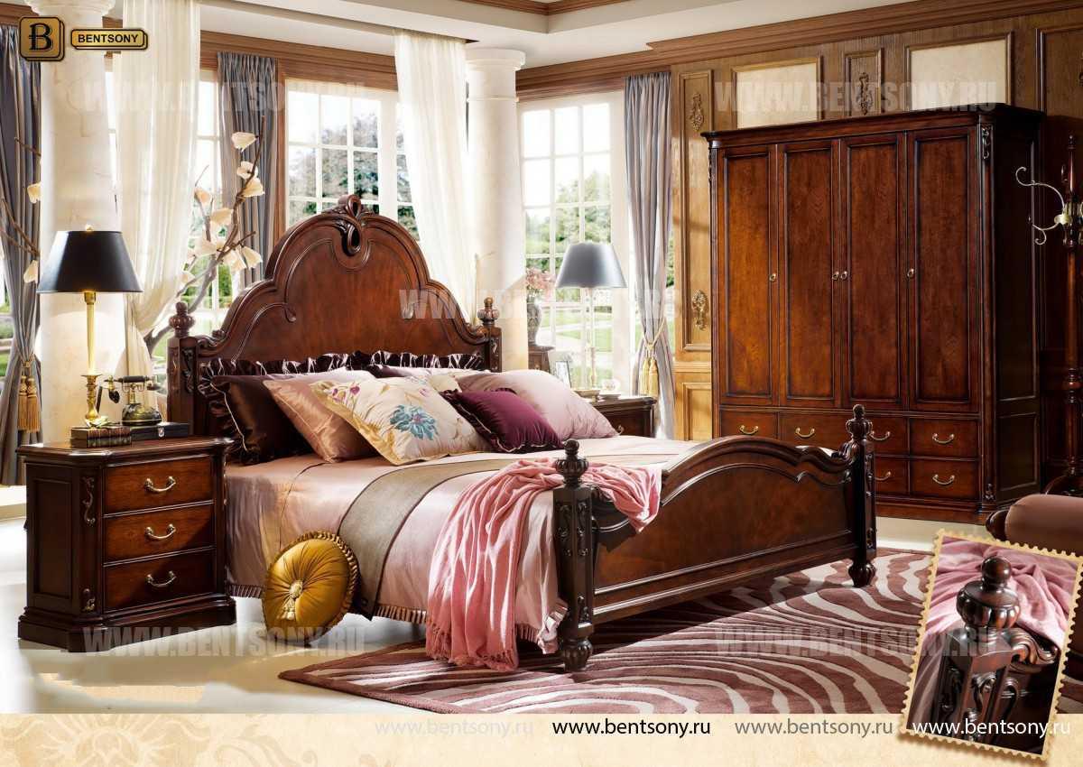 Кровать Крофорд B (Классика, Массив дерева) официальный сайт цены