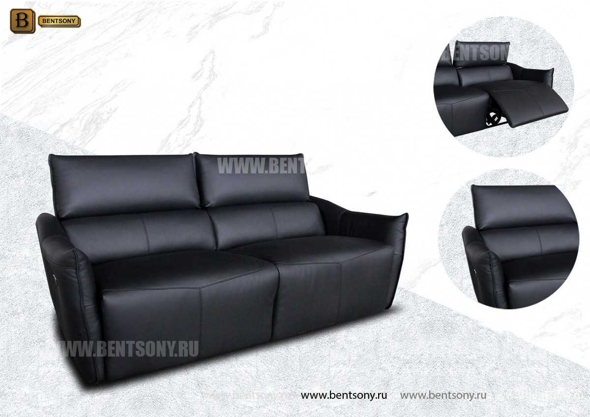 Кресло Порто (Реклайнер, Натуральная кожа) в интерьере