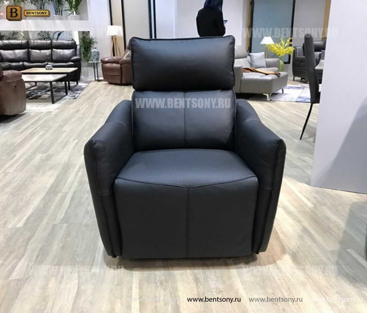 Кресло Порто (Реклайнер, Натуральная кожа) каталог мебели