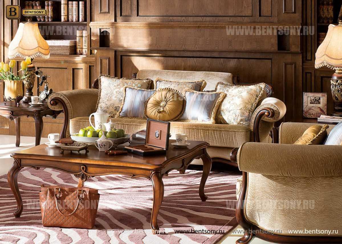 Гостиная Крофорд В (Классика, Ткань, массив дерева) официальный сайт цены
