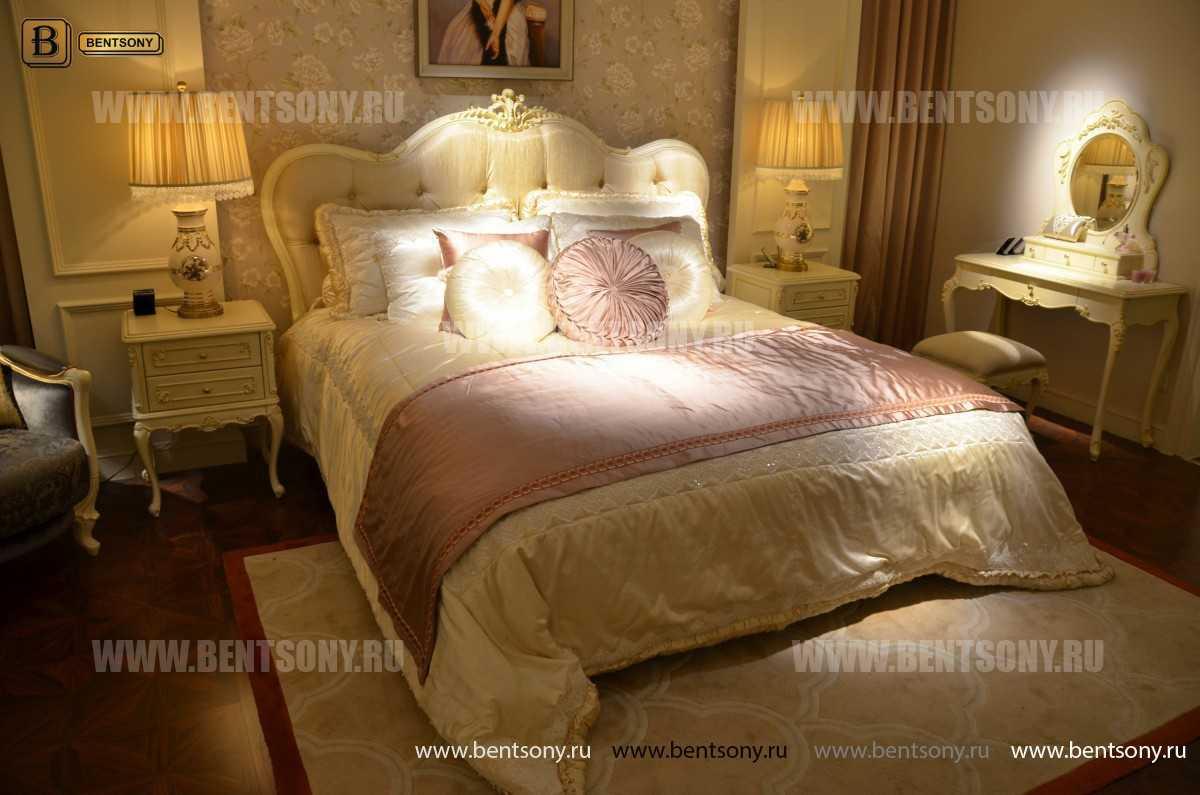 Кровать Митчел B (Классика, Массив дерева) магазин