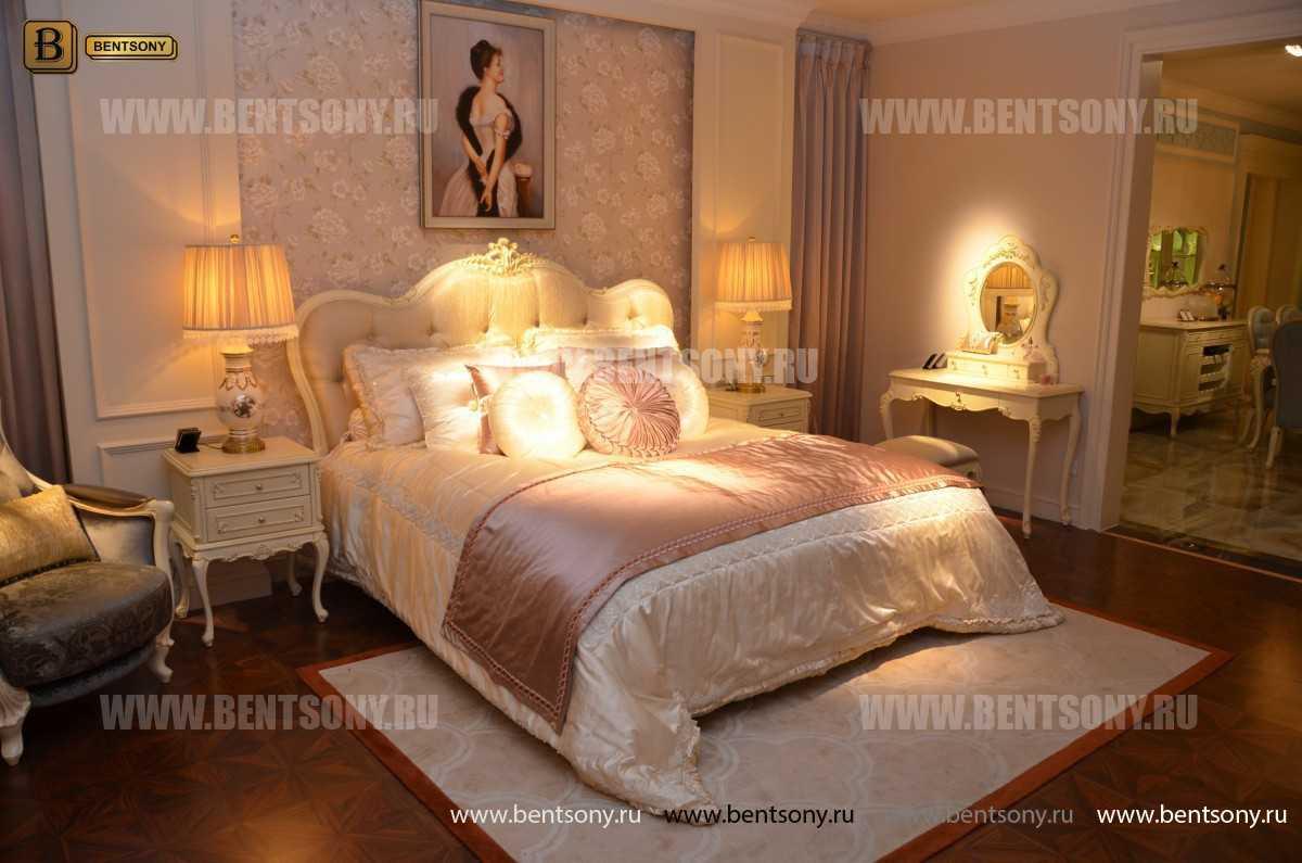 Кровать Митчел B (Классика, Массив дерева) каталог мебели с ценами