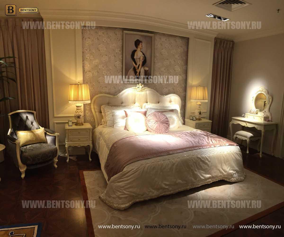 Кровать Митчел B (Классика, Массив дерева) магазин Москва