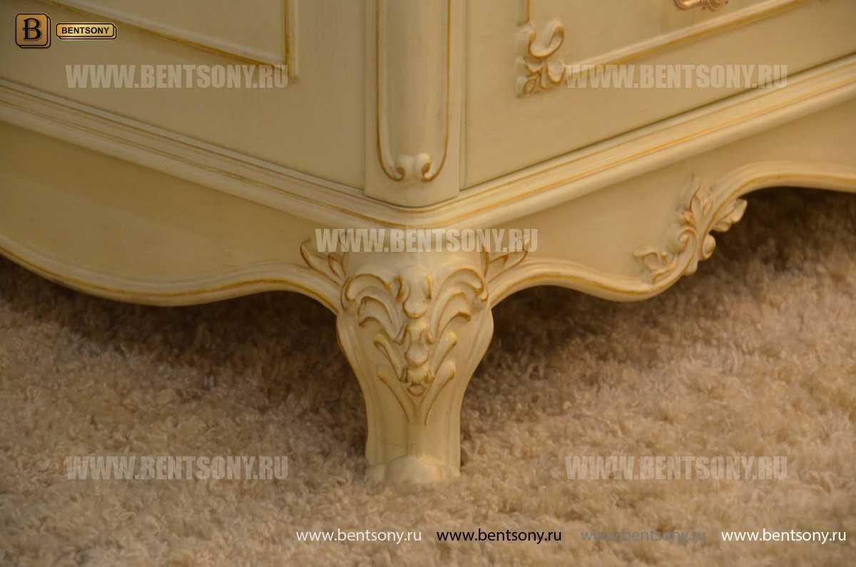 Шкаф 4-х дверный Митчел (Массив дерева, Классика) каталог мебели с ценами