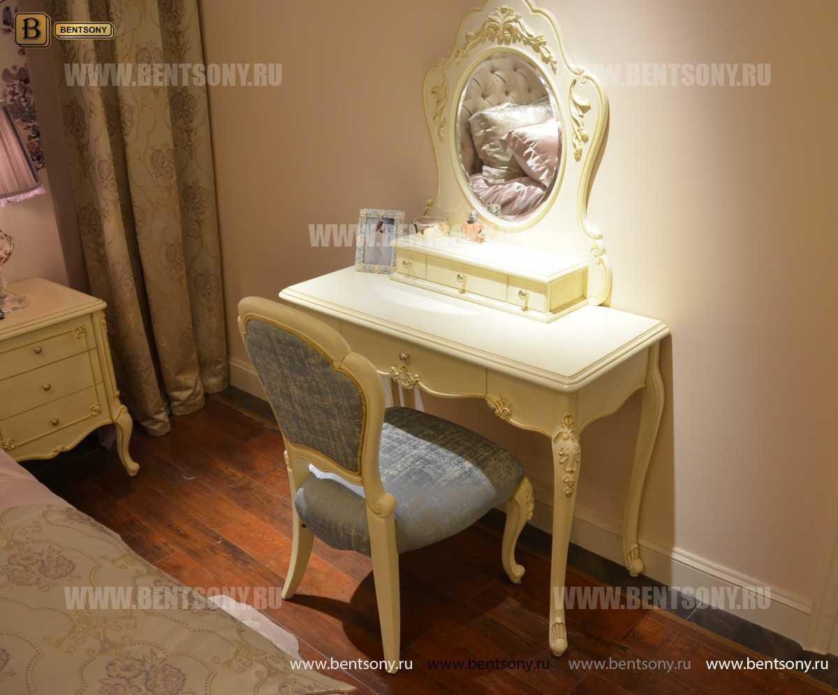 Стол туалетный Митчел В классический (Белый, Массив дерева) купить в Москве