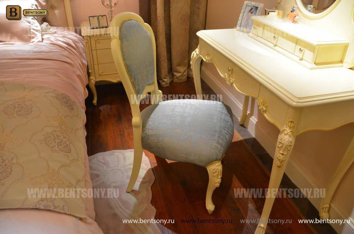 Стол туалетный Митчел В классический (Белый, Массив дерева) цена