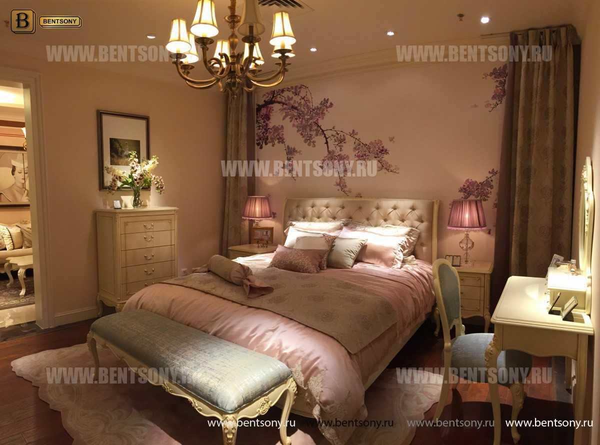 Спальня Митчел D (Классика, Ткань) каталог мебели с ценами