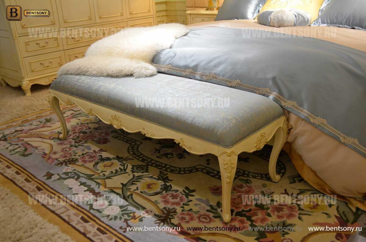 Спальня Митчел D (Классика, Ткань) для квартиры