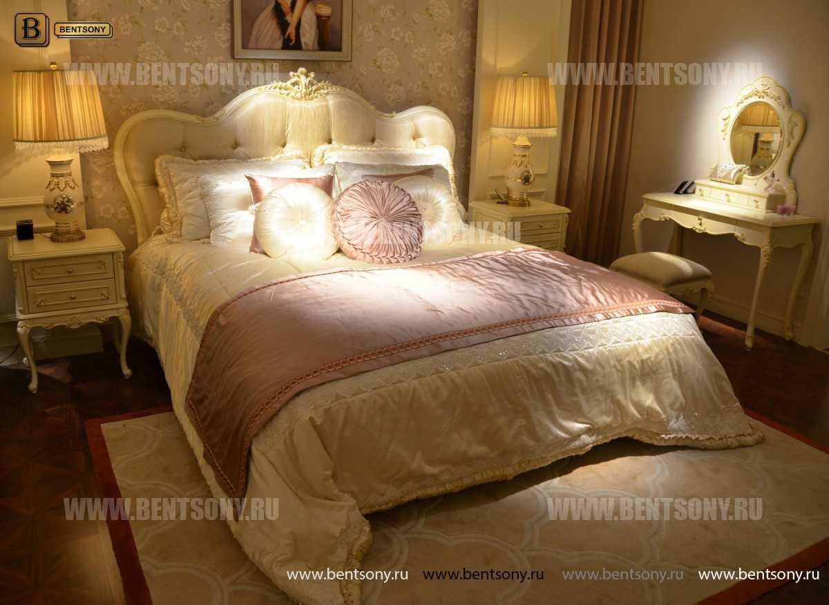 Спальня Митчел B (Классика, Массив дерева) фото