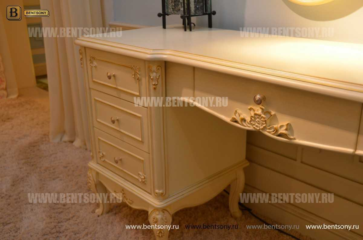 Спальня Митчел А (Классика, Ткань, Белый цвет) распродажа