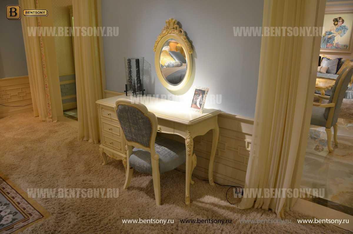 Спальня Митчел А (Классика, Ткань, Белый цвет) купить в Москве