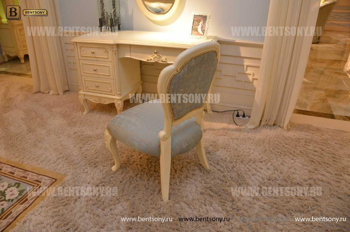 Спальня Митчел А (Классика, Ткань, Белый цвет) фото