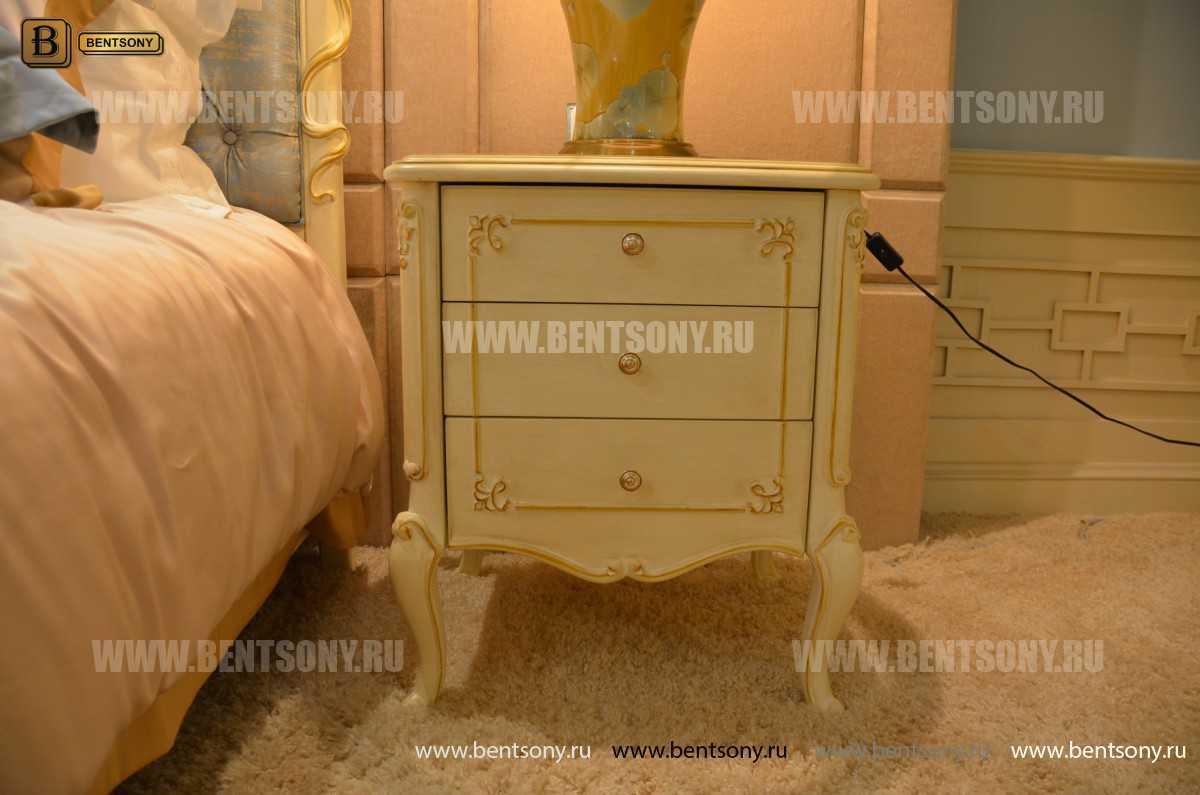 Спальня Митчел А (Классика, Ткань, Белый цвет) в СПб