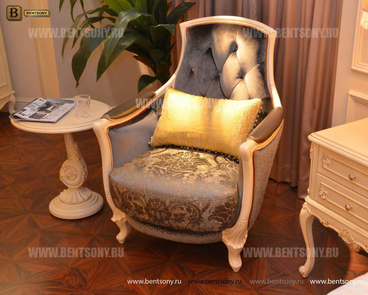 Кресло Митчел А для гостиной (Классика, ткань) фото