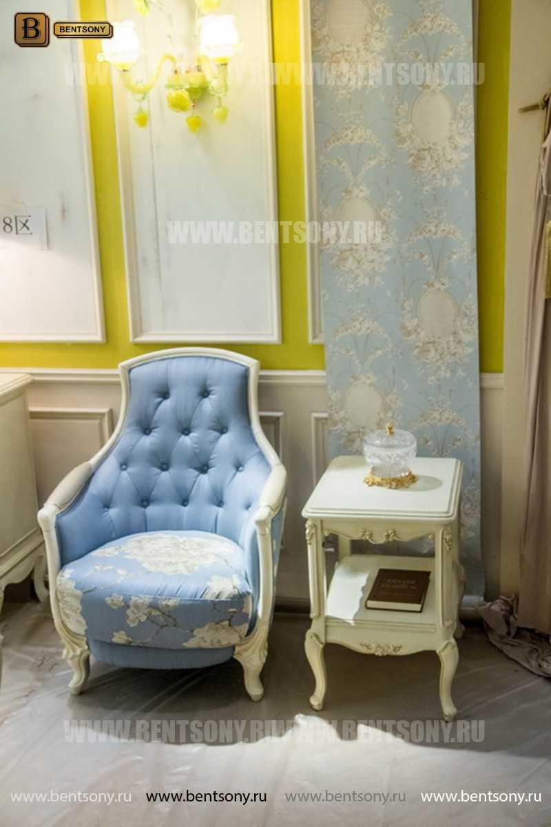 Кресло Митчел А для гостиной (Классика, ткань) каталог с ценами