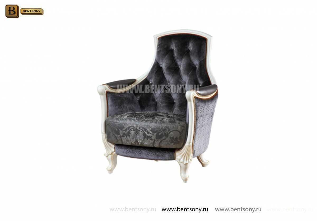 Кресло Митчел А для гостиной (Классика, ткань) изображение